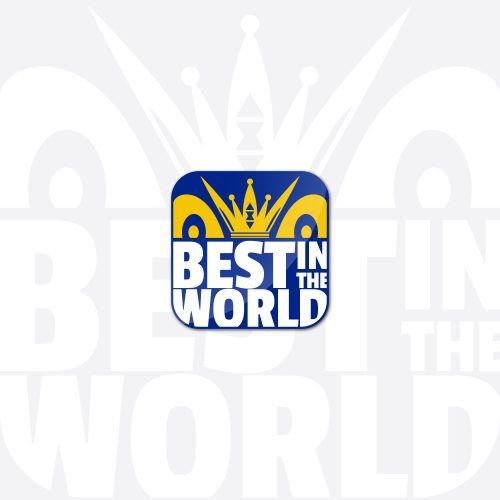 Best in the world logo